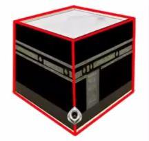 Kaaba - cubo tridimensional